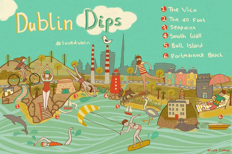 Dublin Dips with Text