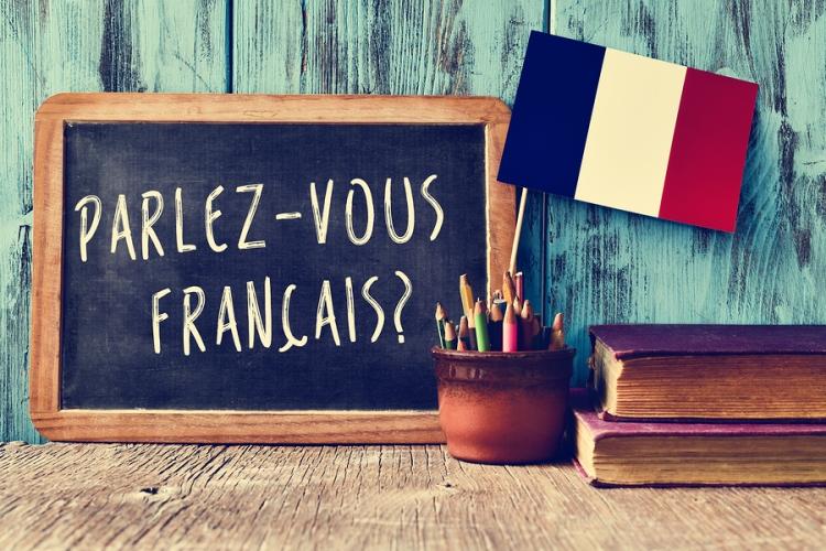 a chalkboard with the question parlez-vous francais? do you spea