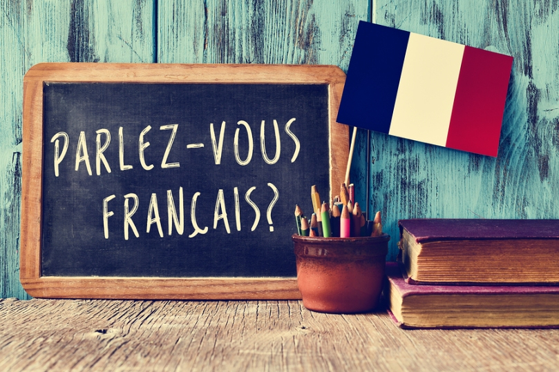 a chalkboard with the question parlez-vous francais? do you spea