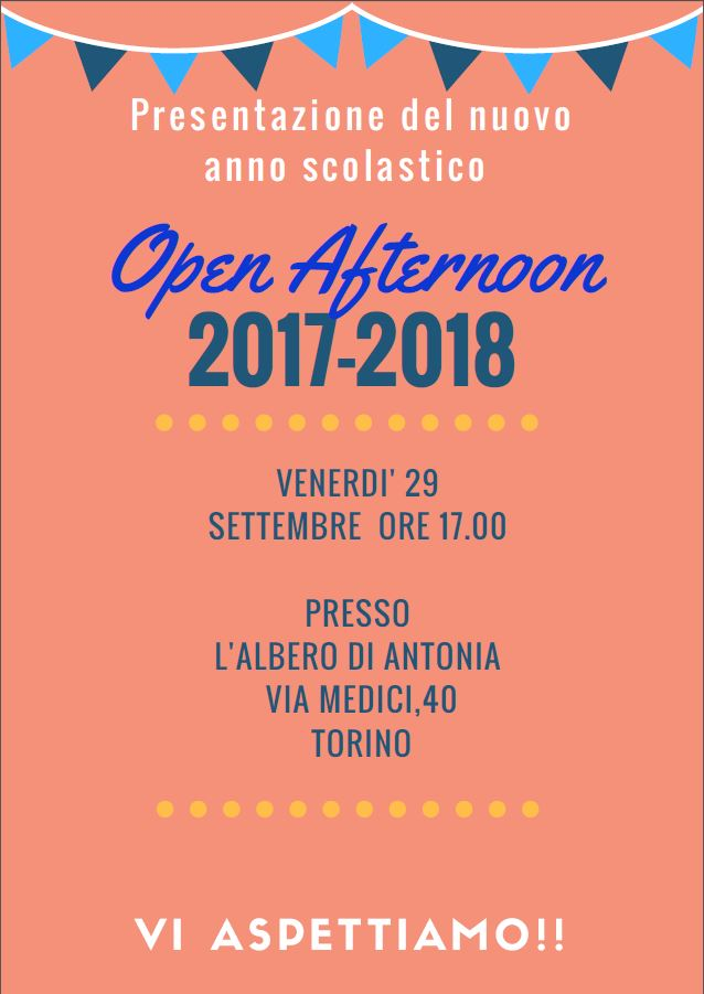 open afternoon