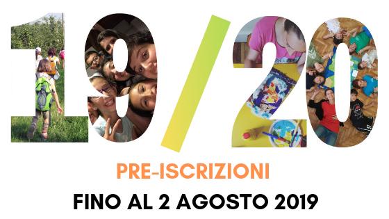 PRE-ISCRIZIONI SCONTATE CORSI A.S. 2019_2020 FINO AL 2 AGOSTO 2019